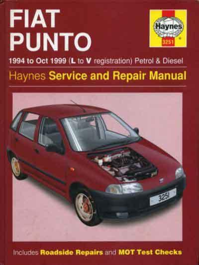 Руководство по ремонту и эксплуатации Fiat Punto 1994-1995 гг.